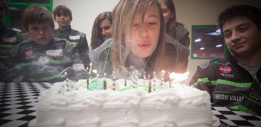 Birthday Parties at Lehigh Valley Grand Prix Allentown, Pennsylvania