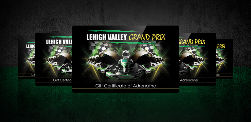 Gift Cards for Lehigh Valley Grand Prix