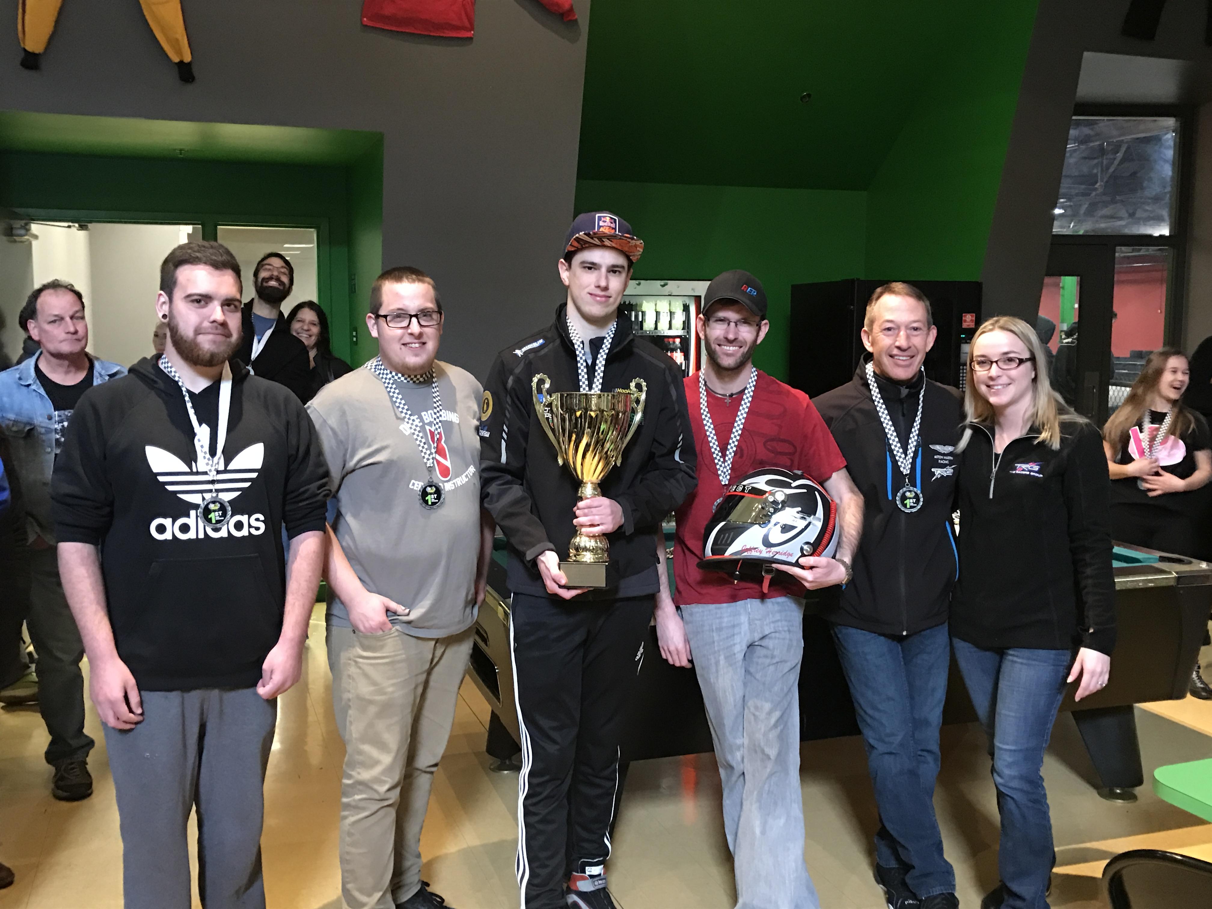 1st Place Pro LVGP 500 Winners