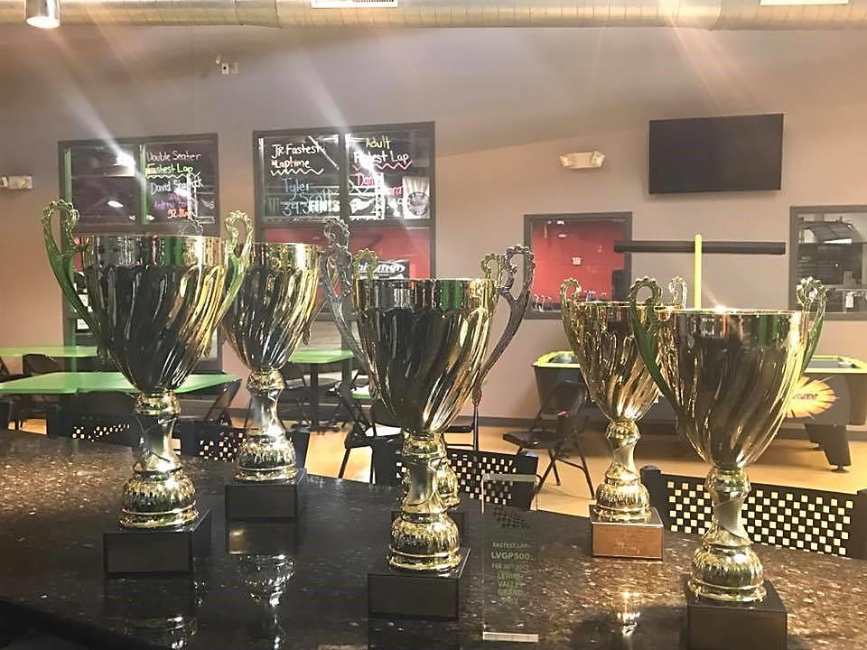 LVGP 500 Trophies for Winners