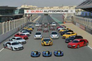 Go Karting Around the World- Dubai Autodrome