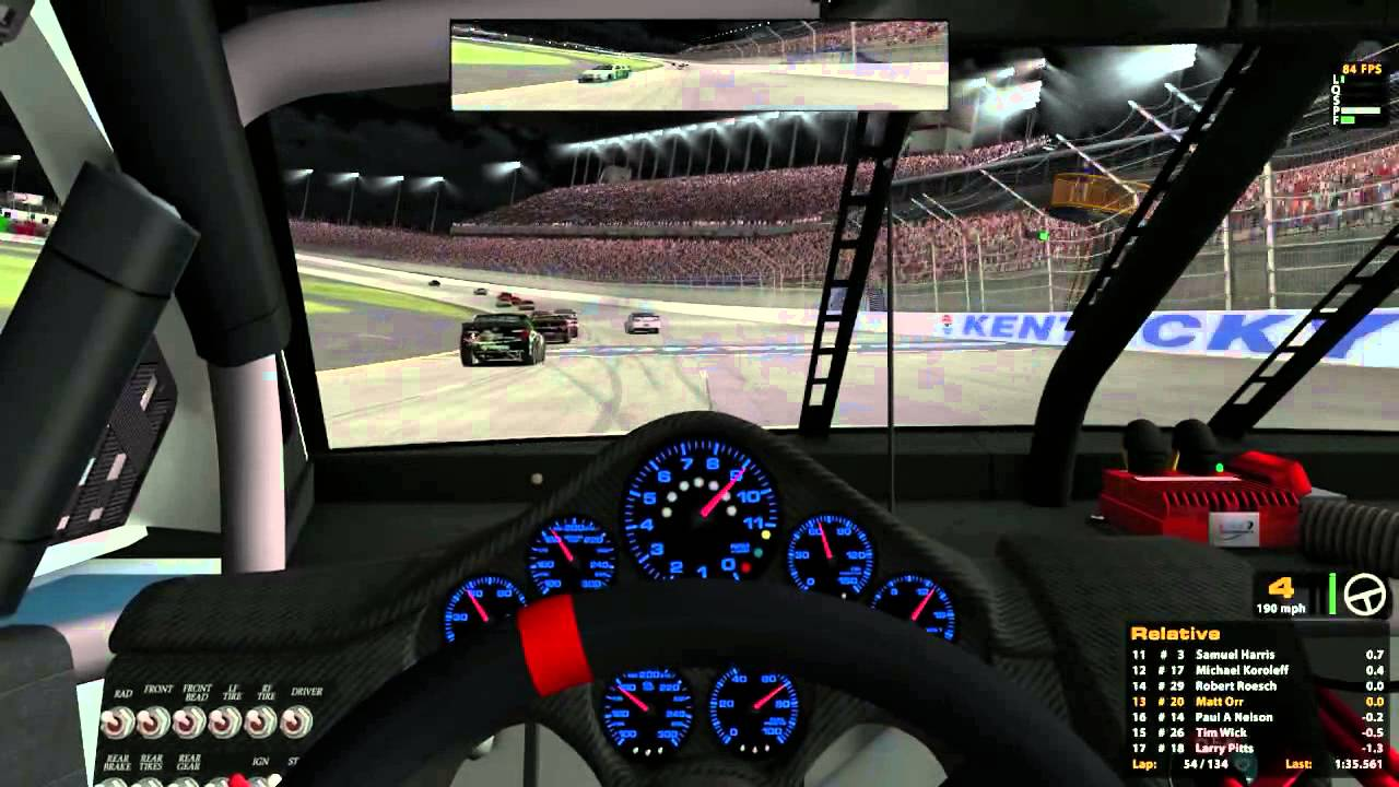 Competitive iRacing allows adolescents to experience their dream career vicariously through an online experience