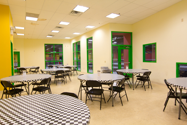 Private Room for Work Parties in Allentown Pennsylvania at Lehigh Valley Grand Prix